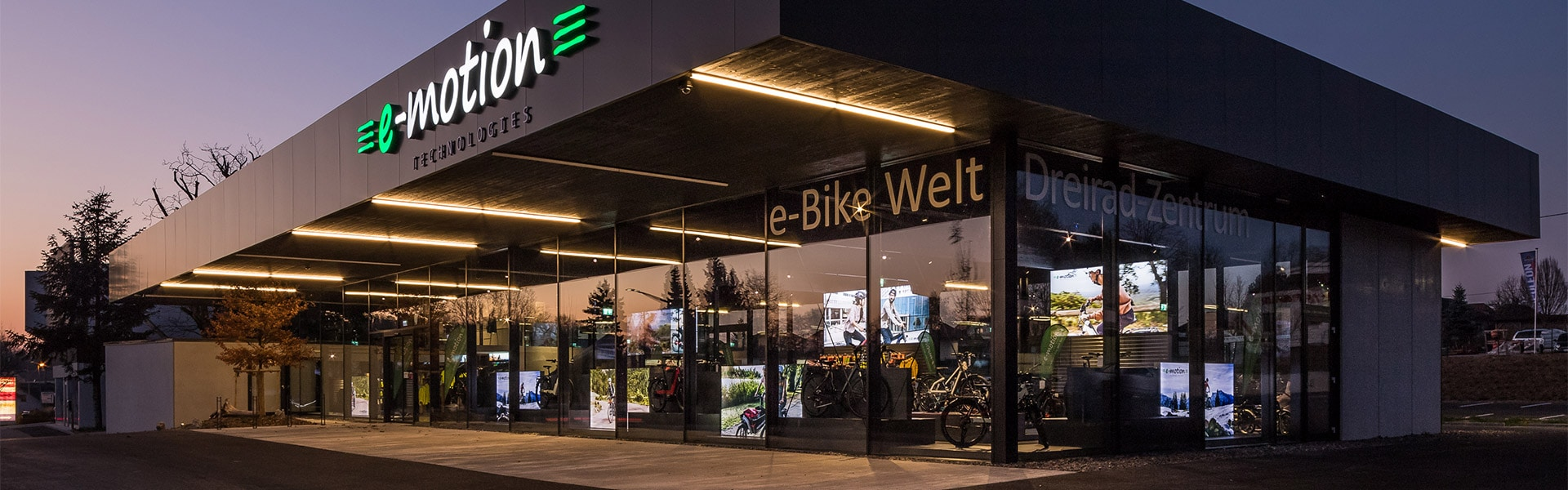 Der Shop der e-motion e-Bike Welt Bad Hall