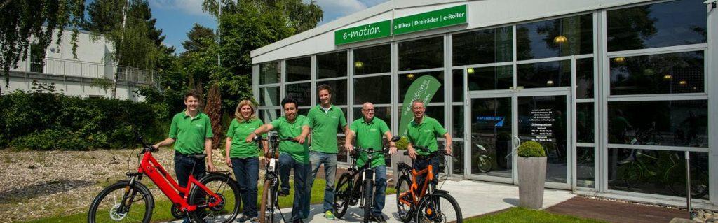 e-Bike Händler Team Bild