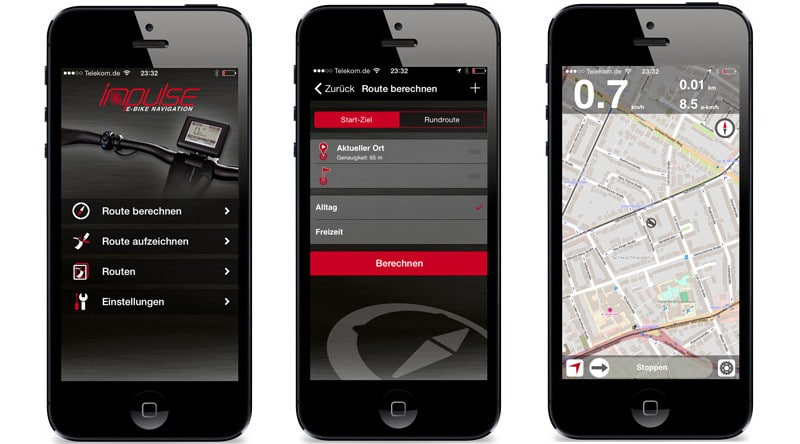 Raleigh Impulse e-Bike Antrieb App