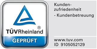 e-Bike Versicherung TÜV Siegel