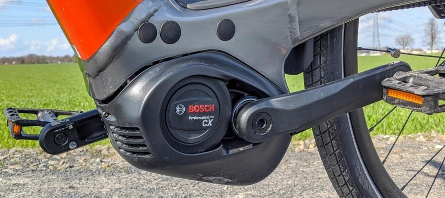 Bosch Performance Line CX Motor am Cannondale Mavaro Neo 2020