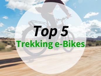 Grafik zu den top 5 Trekking e-Bikes