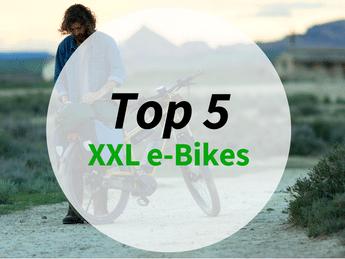 Grafik zu den top 5 XXL e-Bikes