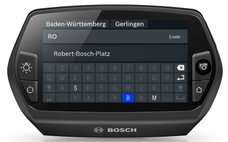 Bosch-e-Bike-Display-Nyon-Update-2018 Tastatur