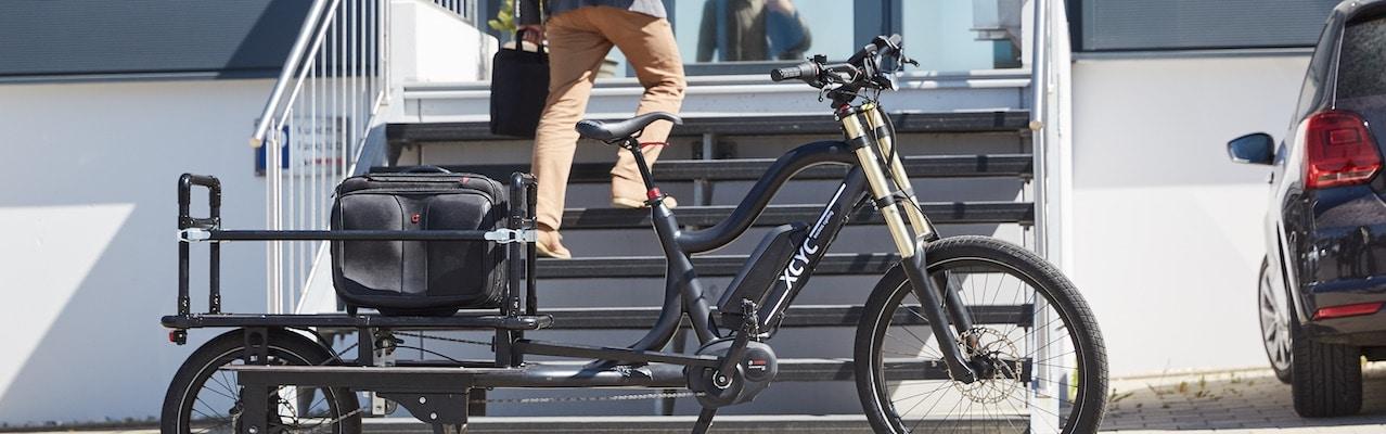 Lastenräder von XCYC gibt es bei den e-Bike Experten von e-motion