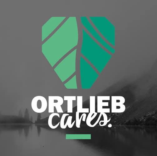 Ortlieb Cares Siegel für ein verantwortungsvolles Handeln in Sachen Nachhaltigkeit und Umwelt