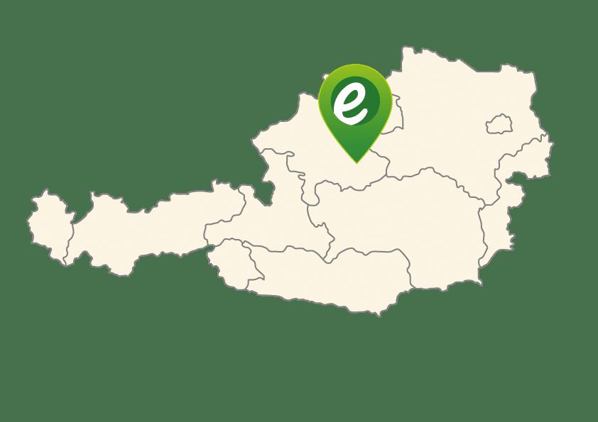 Standort der e-motion e-Bike Welt Bad Hall in Österreich