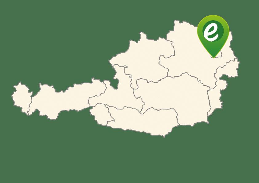 Standort der e-motion e-Bike Welt Wien in Österreich