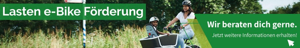 Förderungen in Wien für dein Lasten e-Bike