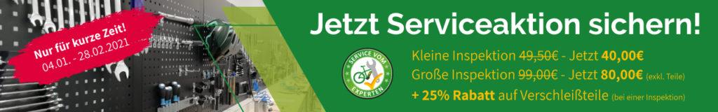 e-Bike Serviceaktion in Wien