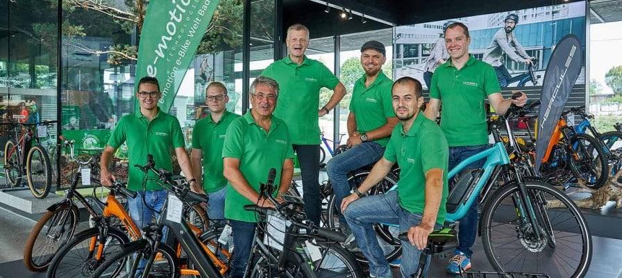 e-motion e-bike Welt Bad Hall Team