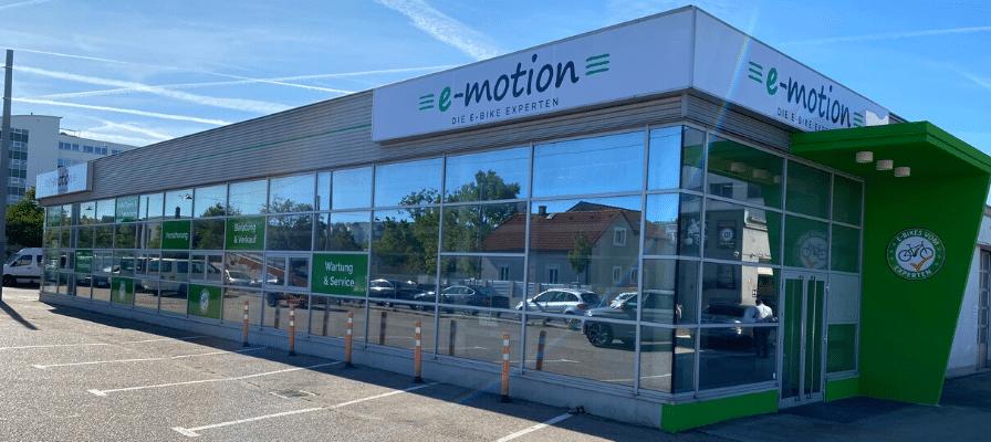 e-motion e-Bike Welt Wien neuer Shop