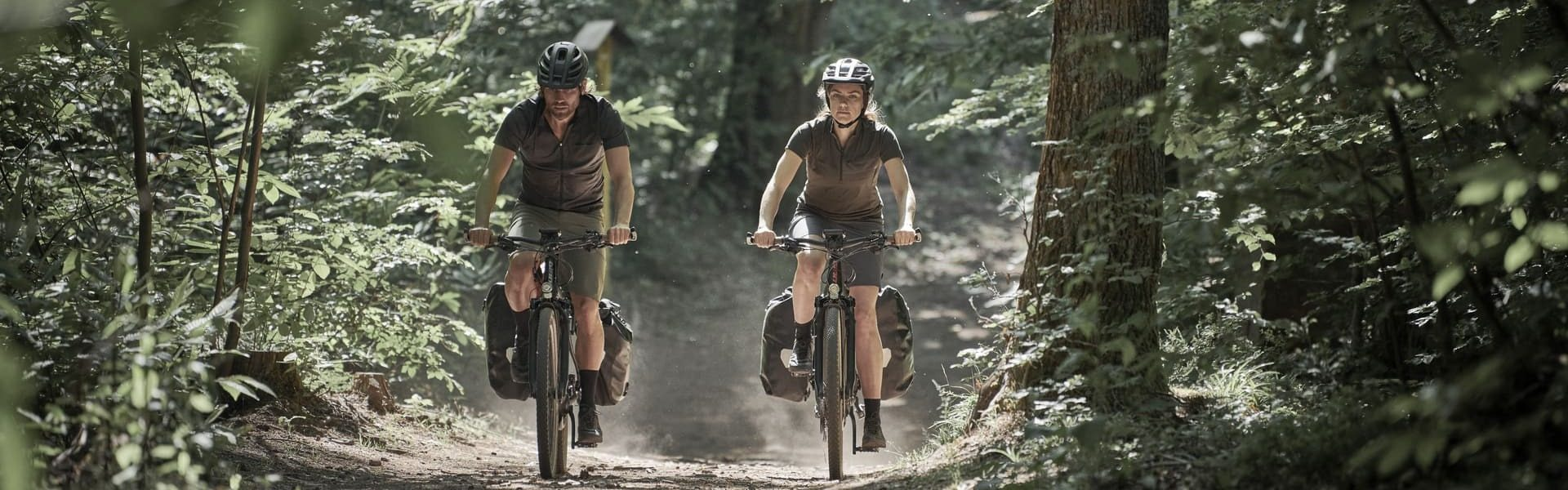 Radtour auf XXL e-Bike